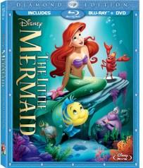 Little Mermaid Combo Pack Box Art