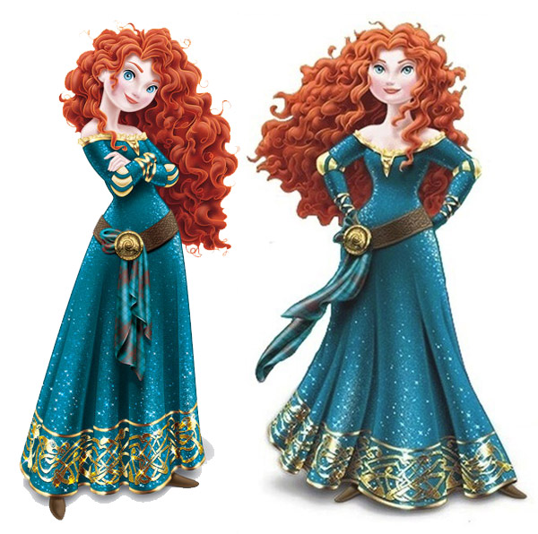 Merida joins disney princess royal court animation fascination