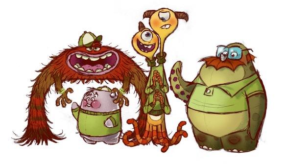 Oozma Kappa, Chris Sasaki, pencil, 2010. Courtesy of Pixar Animation Studios © 2013 Disney•Pixar.
