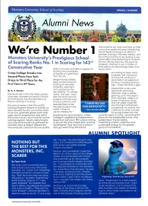 MU Newsletter Front