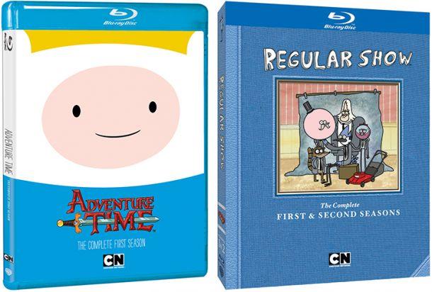 Ooooooooooh Regular Show 'Adventure Time' a...