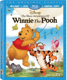 The Many Adventures of Winnie The Pooh Bluray