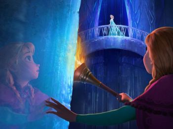 Anna and Elsa Frozen AF Disney