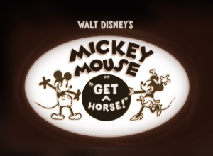 """GET A HORSE!"" ©2013 Disney. All Rights Reserved."