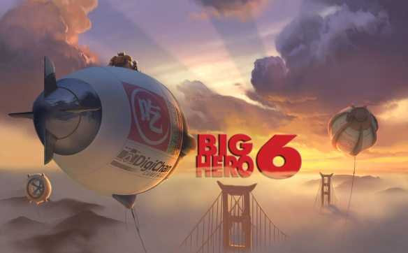 Big Hero 6 concept logo