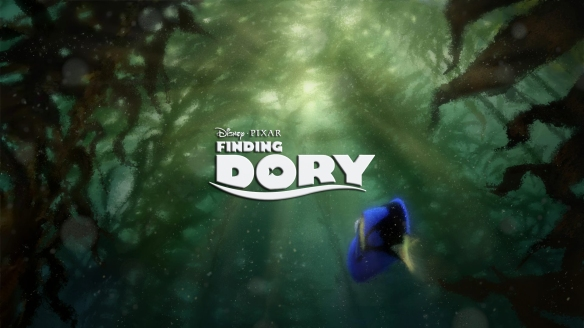 Finding Dory concept logo