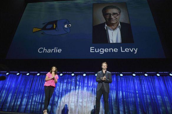 Finding Dory D23 Eugene Levy Charlie