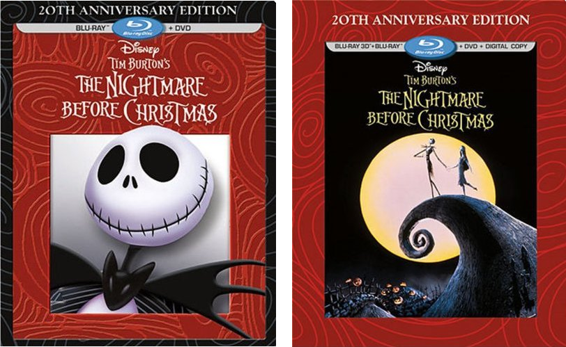 New 20th Anniversary Edition of 'The Nightmare Before Christmas ...