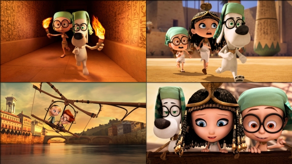 Peabody an Sherman collage