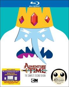 Adventure Time S2 blu