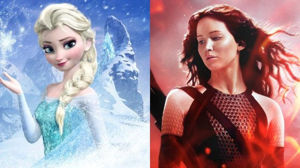 frozen-nearly-topples-catching-fire-on-box-office