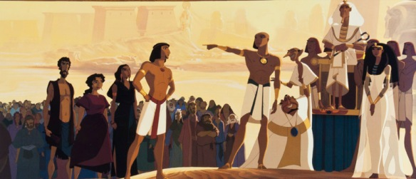 The Prince of Egypt by Dreamworks