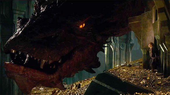 Smaug-and-Bilbo