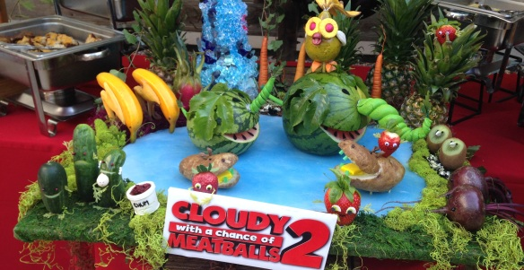 Cloudy 2 Centerpiece press event