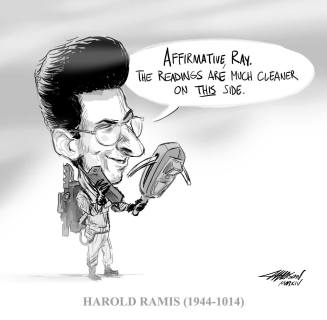 Pixar animator/story artist Austin Madison's tribute to Harold Ramis