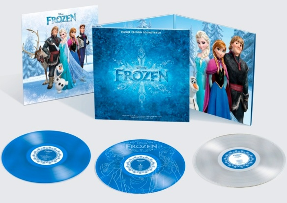 'Frozen' Vinyl Soundtrack Poster Giveaway