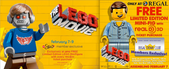 Lego Movie Free Mini Fig