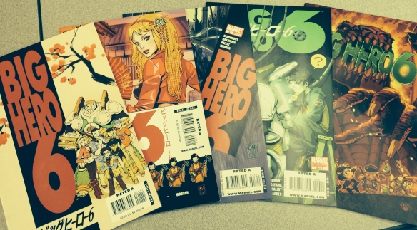 Big Hero 6 All 5 issues of 2008 2009 series