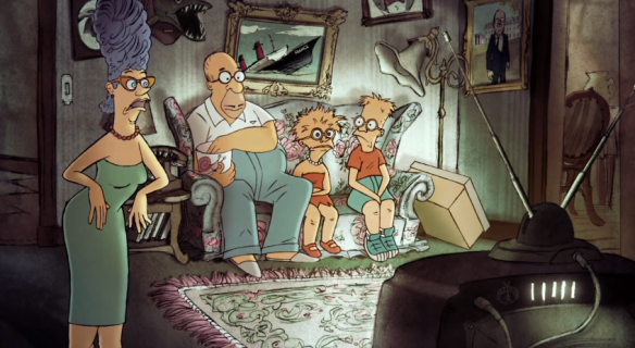 Sylvain Chomet Simpsons