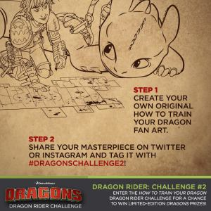 HTTYD2 Dragons 2 Challange