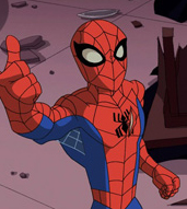 Spidey Thumbs Up