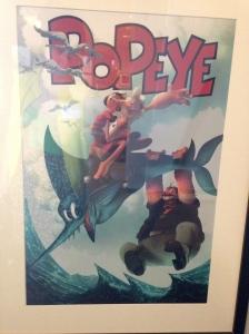 Popeye Art