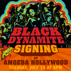 Black Dynamite Signing