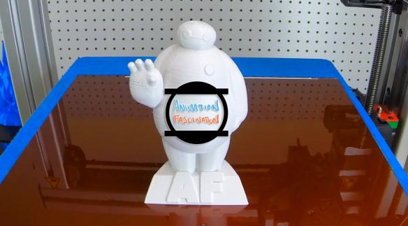 3D Printed Baymax AF 1