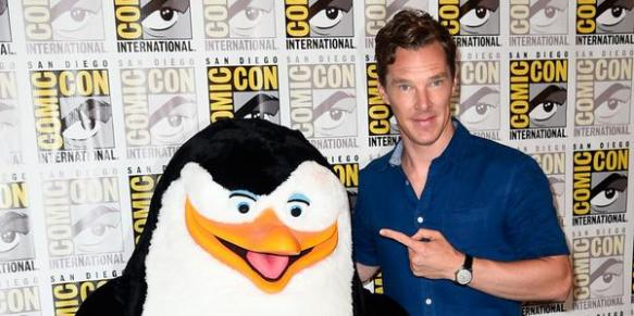 Benedict Cumberbatch SDCC DreamWorks Animation Panel