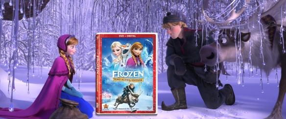 Frozen Sing Along DVD