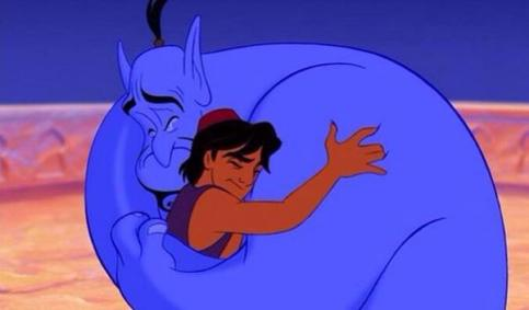 Genie youre free.