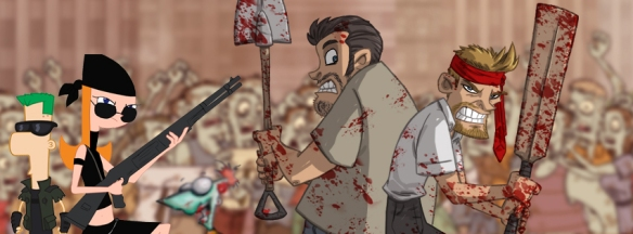 Shaun of the Dead -OtisF-PhineasFerb