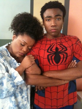 Donald Glover Spiderman Troy Community