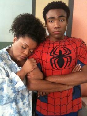 Donald Glover Spiderman Troy Community
