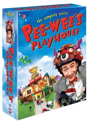 Pee-wee's Playhouse The Complete Series BLU