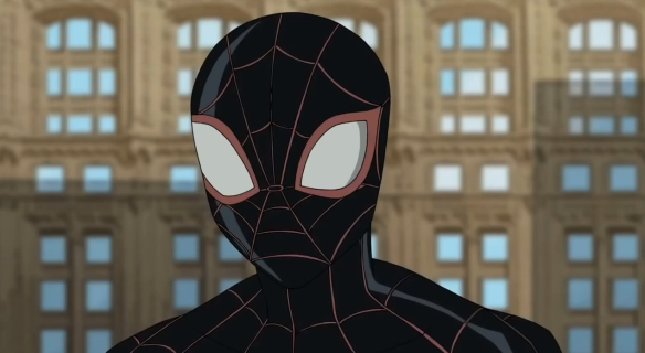 Ultimate Spider Man Miles Morales Masked