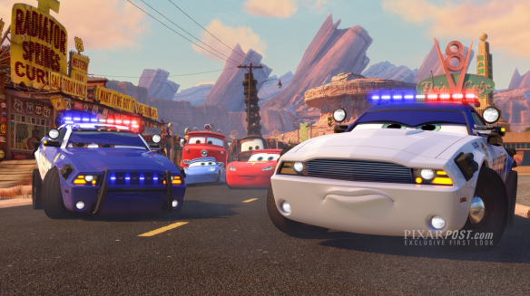 Cars Toon To Protect and Serve