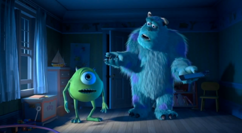 Monsters Inc Trailer