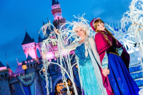frozen float anna elsa