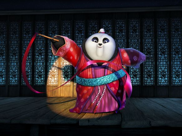 Mei Mei (voiced by Rebel Wilson) in 'Kung Fu Panda 3' © DreamWorks Animation