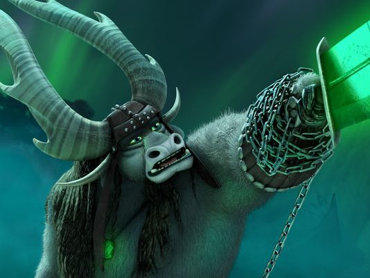 The villainous bull Kai (voiced by J.K. Simmons) in 'Kung Fu Panda 3'   © DreamWorks Animation