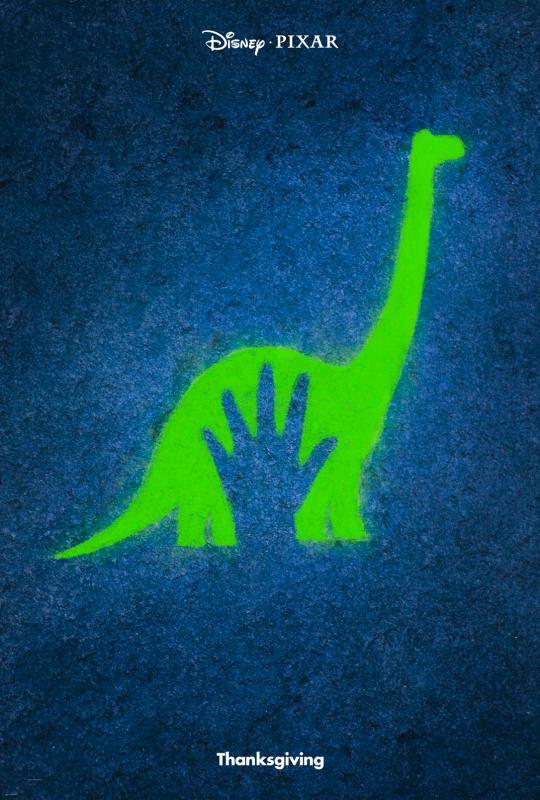 the good dinosaur teaser poster