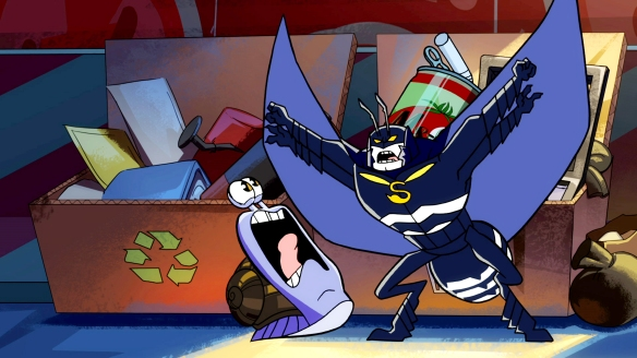 Kevin Conroy hilariously voices The Stinger in season two of 'Turbo FAST' (© DreamWorks Animation)