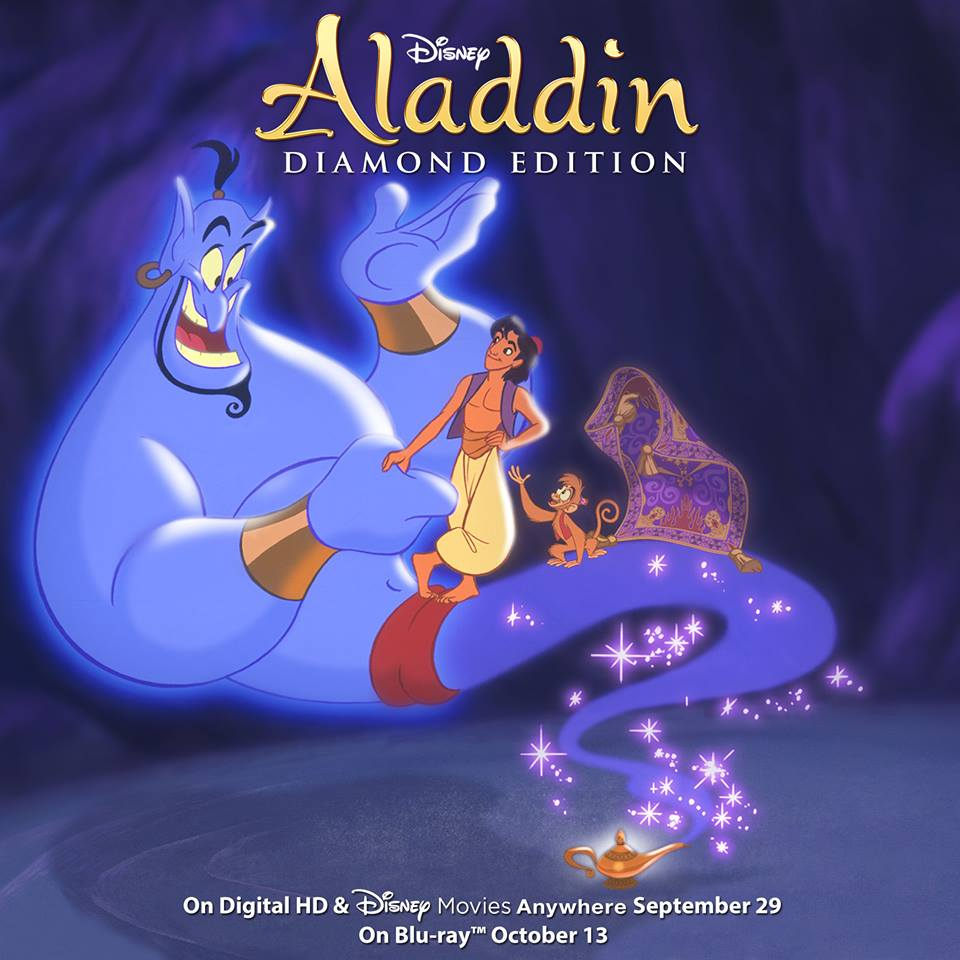 Aladdin blu ray release date in Sydney