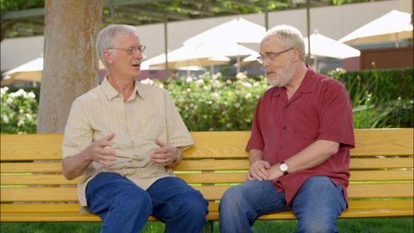 Co-directors John Musker (L) and Ron Clements (R) (© Disney)