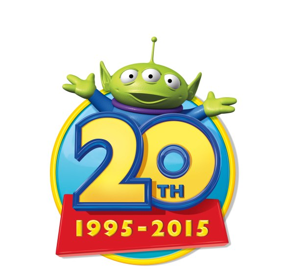 toy story 20th anniversary logo